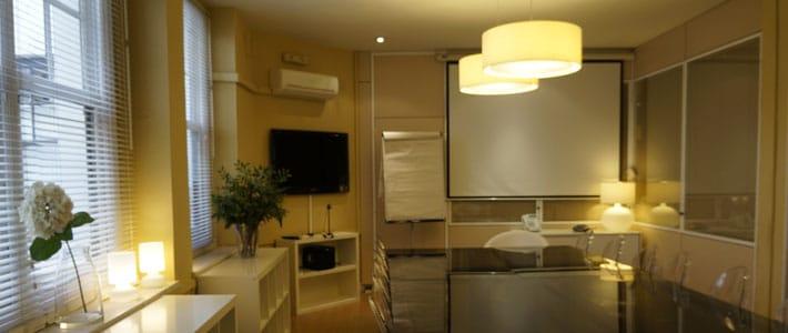Alquilar una sala de reuniones en Madrid