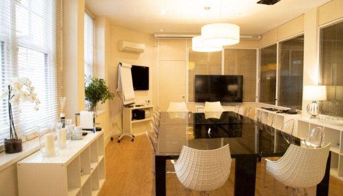Alquiler de sala de reuniones por horas en Madrid